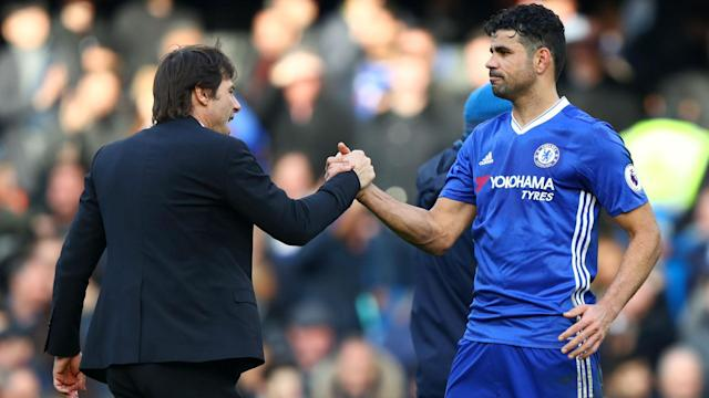 Diego Costa may have left Chelsea under a cloud, but coach Antonio Conte has positive memories of working with the Spain star.