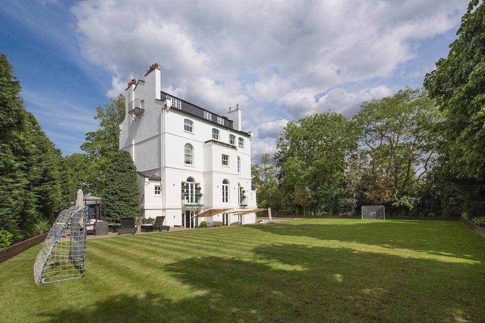 Rihanna's former St John's Wood home is on the market for £32 million (Aston Chase)