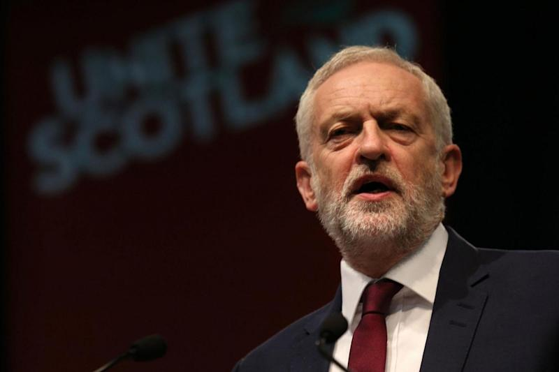 Jeremy Corbyn: The Labour leader the City's growth has had a destructive impact on the 'real economy' (PA)