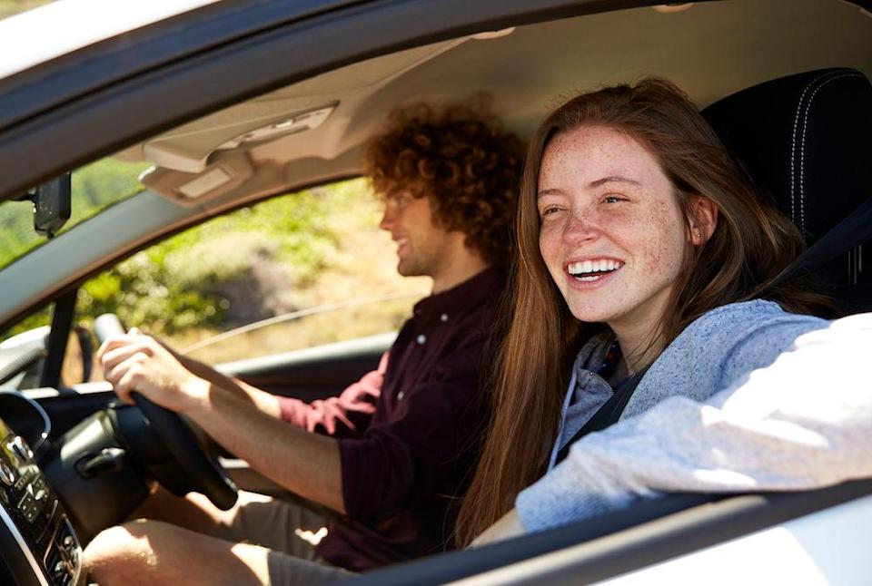 <em>Motorists say they'd be ashamed of giving their first date a lift because of their messy cars (Picture: Rex)</em>