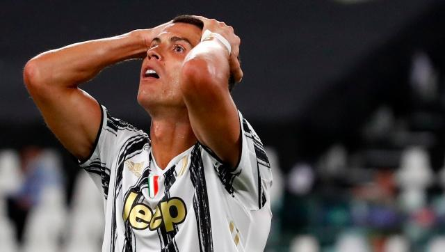Juventus' Cristiano Ronaldo has contracted COVID-19 while on international duty. Image:  AP/File