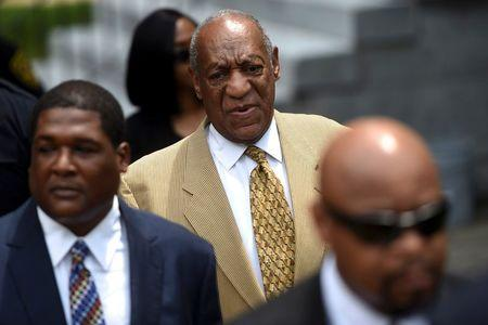Actor and comedian Bill Cosby arrives for a Habeas Corpus hearing on sexual assault charges at the Montgomery County Courthouse in Norristown, Pennsylvania