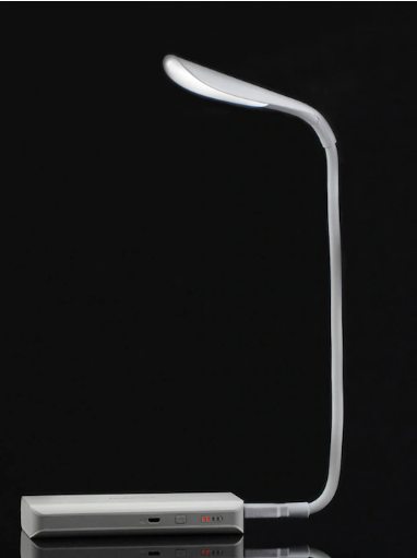 Archies - White Solid Eye Caring LED Lights Desk Table Lamp