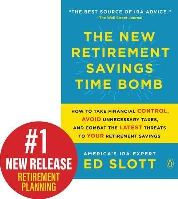 """""""The New Retirement Savings Time Bomb"""" is a #1 new release for retirement planning"""