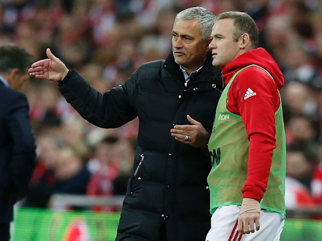Jose Mourinho has confidence in playing Wayne Rooney even though he is struggling with injury: Getty