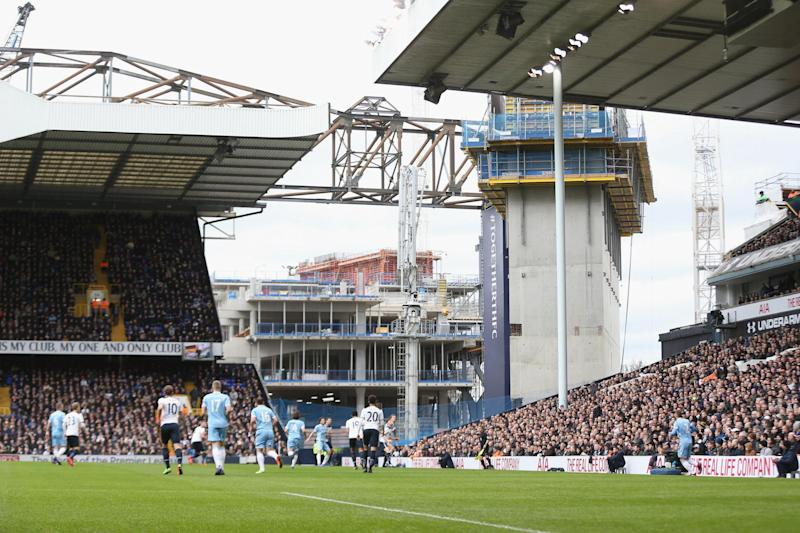 New stadium: Tottenham are expected to leave White Hart Lane and play at Wembley next term: Tottenham Hotspur FC via Getty Images
