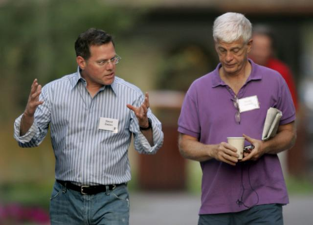 <p>No. 10: CEO Mario J. Gabelli (right)<br>Company: Gamco Investors Inc.<br>Compensation: $75,965,266<br>(AP Photo/Douglas C. Pizac) </p>