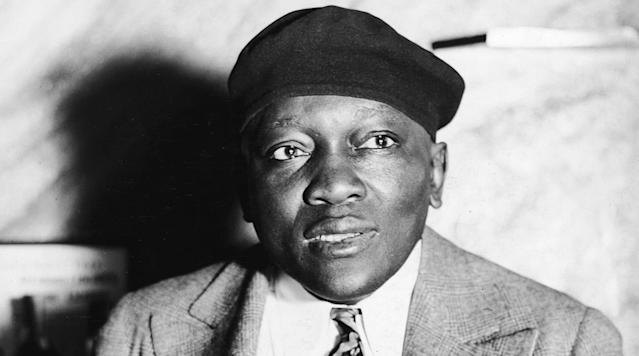 WEST PALM BEACH, Fla. (AP) — President Donald Trump says he's considering a posthumous pardon for boxing's first black heavyweight champion more than 100 years after the late Jack Johnson was convicted by all-white jury of accompanying a white woman across state lines.