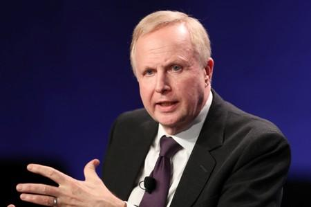 Bob Dudley, Group Chief Executive of BP, speaks at the 2019 Milken Institute Global Conference in Beverly Hills
