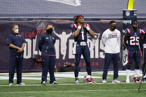 Racial injustice themes fill empty NFL stadiums