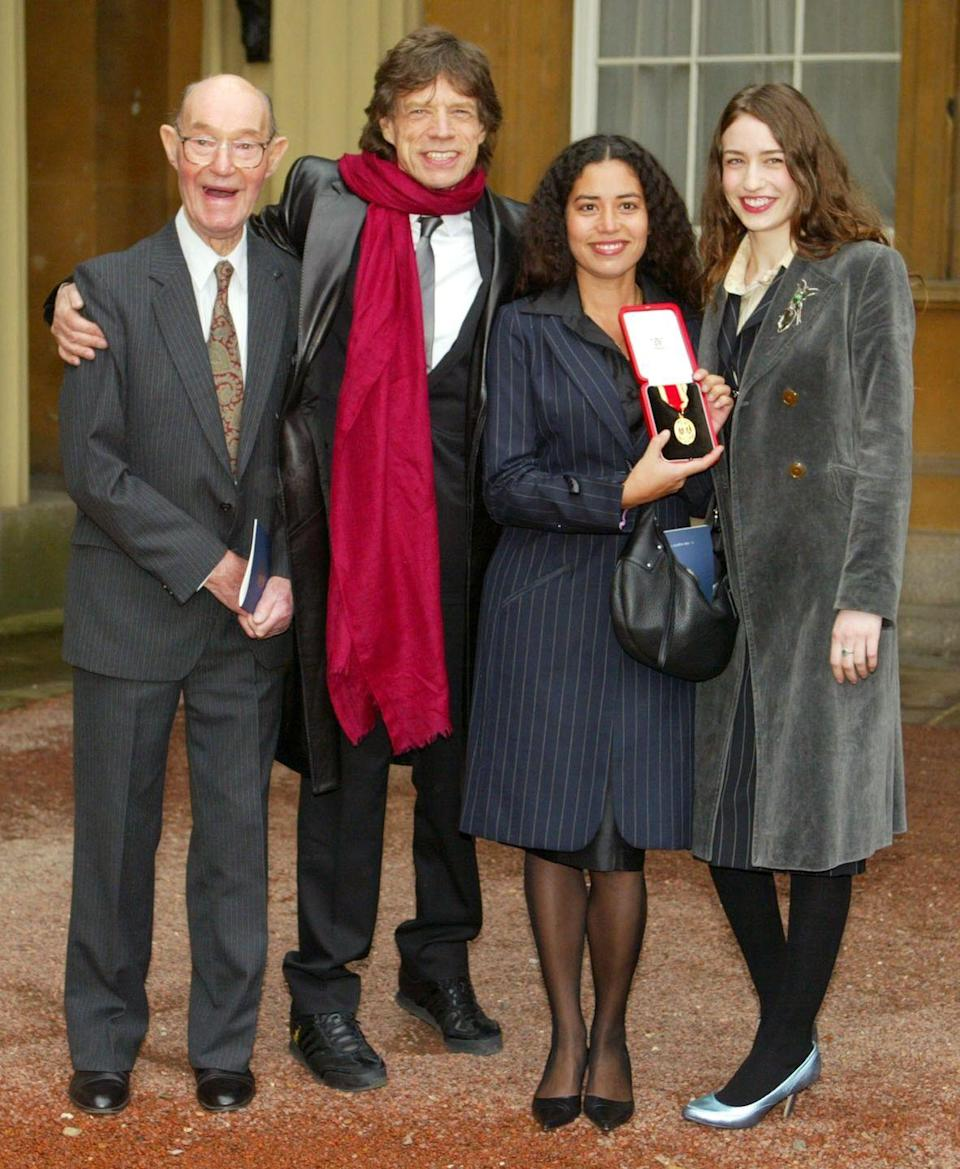 <p>Prince Charles knighted Jagger for services to popular music in 2003.</p>