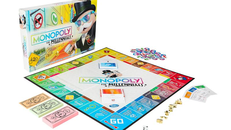A New Monopoly Game Is Trolling Millennialsand They Are So Not Here