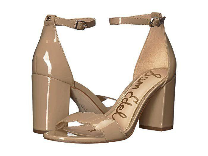"These nude sandals have a sturdy block heel and ankle strap that make them perfect for wedding season.<strong> <a href=""https://fave.co/2O6Ollj"" target=""_blank"" rel=""noopener noreferrer"">Normally $100, get them on sale for $60 during Zappos' 20th Birthday Sale</a>.</strong>"