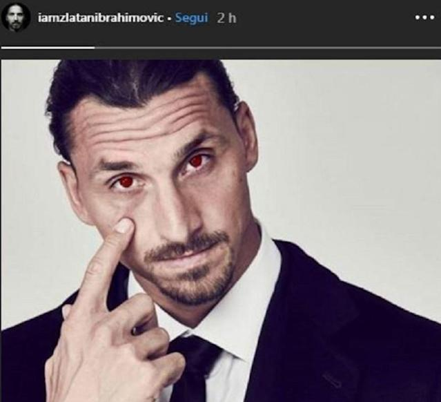 "Dalle ""stories"" di Zlatan Ibrahimovic (Instagram)"