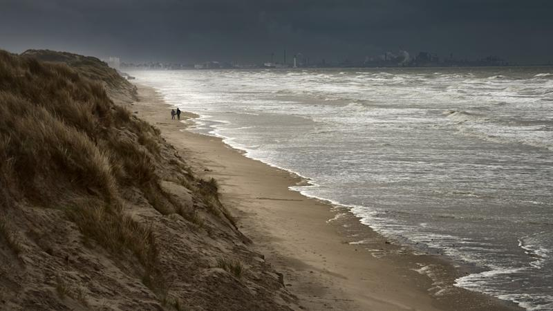A windswept beach near Dunkirk - Credit: GETTY