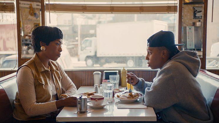 Angela Bassett as Catherine and Lena Waithe as Denise in Netflix's Master of None. (Photo: Netflix)