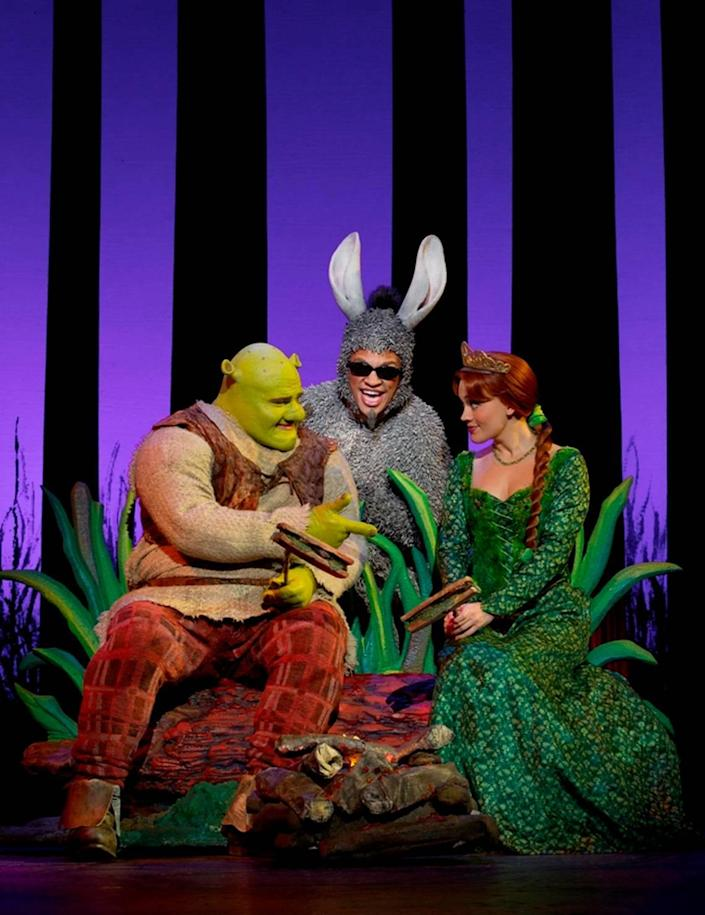 """Area Stage plans to produce """"Shrek the Musical,"""" seen here in a 2011 production, outdoors in December 2020."""