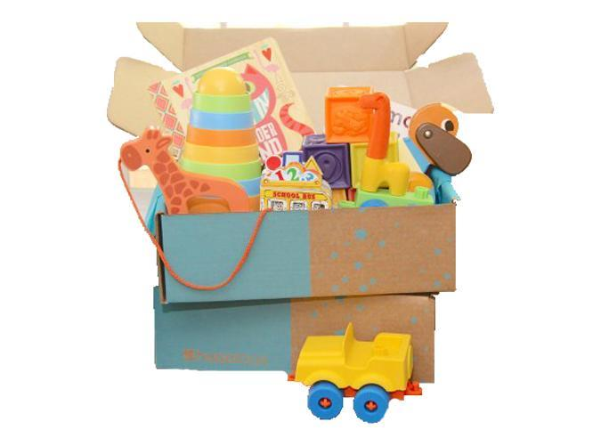 """<h2>50. Hoppi Box</h2> <p><strong>Cost: </strong>$66/quarter</p> <p><strong>What you get: </strong>Four to five toys</p> <p><strong>Why we love it: </strong>This company delivers an assortment of high-quality toys that support your little one's development, curiosity and imagination. Each box is tailored to your child's age and developmental milestones.</p> <p><a class=""""link rapid-noclick-resp"""" href=""""https://www.cratejoy.com/subscription-box/hoppi-box/?irgwc=1&clickid=WTlUgX3PkRuW28O3QX1-xxAoUkjR82UWuVn1080&utm_medium=AFF&utm_source=IR&utm_basket=admitad%20GmbH&utm_carton=ONLINE_TRACKING_LINK&utm_egg=Online%20Tracking%20Link"""" rel=""""nofollow noopener"""" target=""""_blank"""" data-ylk=""""slk:Sign up for Hoppi Box"""">Sign up for <em>Hoppi Box</em></a></p>"""