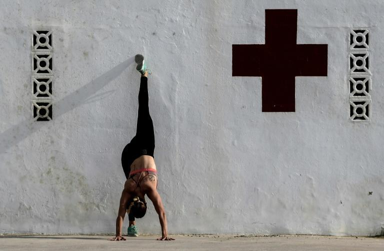 In Spain, people were allowed out to exercise after 48 days of stay-at-home orders (AFP Photo/JOSE JORDAN)