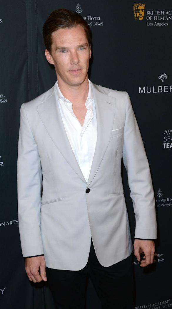 PHOTOS: Sandra Bullock, Benedict Cumberbatch, Tom Hanks And More Step Out For 2014 BAFTA Tea Party