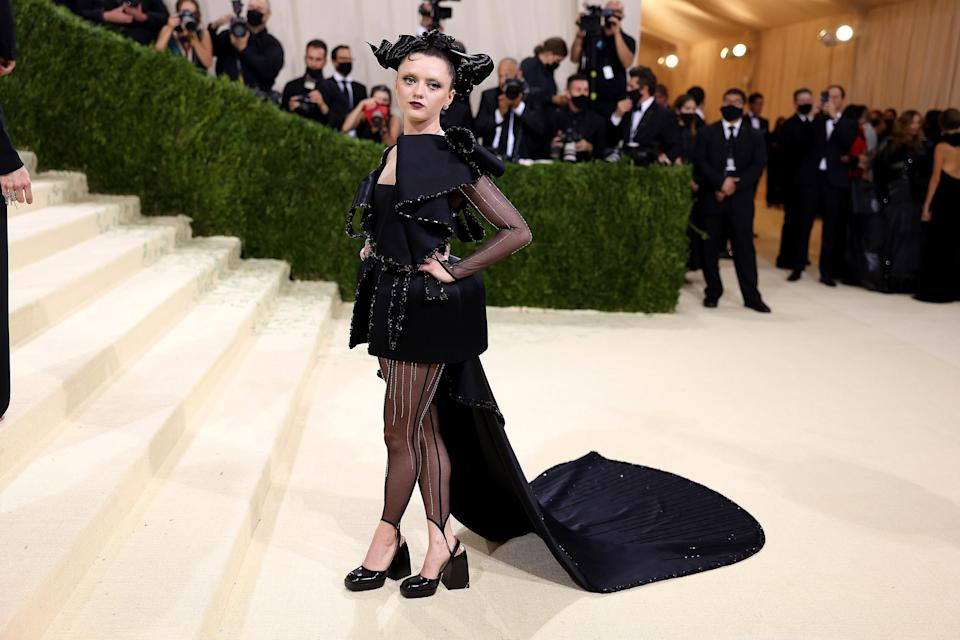 The 2021 Met Gala Celebrating In America: A Lexicon Of Fashion - Arrivals (John Shearer / WireImage)