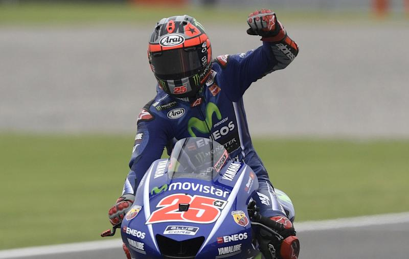 Maverick Vinales won his second race of the season in the Grand Prix of Argentina: Getty