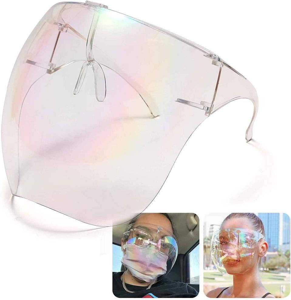 <p>You can't go wrong with the <span>MUSJO Full Face Cover Protective Eyewear</span> ($15). They are stylish and sleek perfect for the beach, an outdoor workout, or for when you just want to look extra fierce. </p>