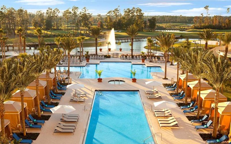 The Waldorf Astoria is one of Orlando's most luxurious resorts, situated within Walt Disney World