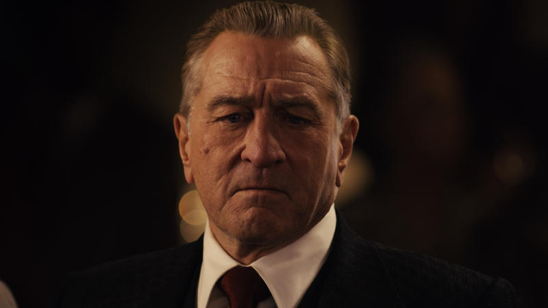 Robert De Niro as Frank Sheeran in 'The Irishman'. (Credit: Netflix)