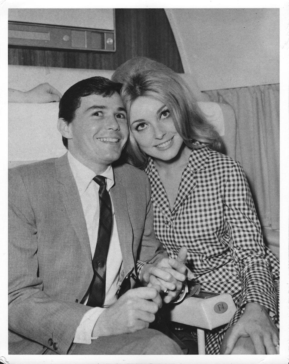 <p>Tate began dating celebrity hairstylist Jay Sebring in 1964. The two had a solid relationship, but decided to part ways in 1965, remaining good friends. (Jay Sebrig was among one of the Manson Cult killing victims.)</p>