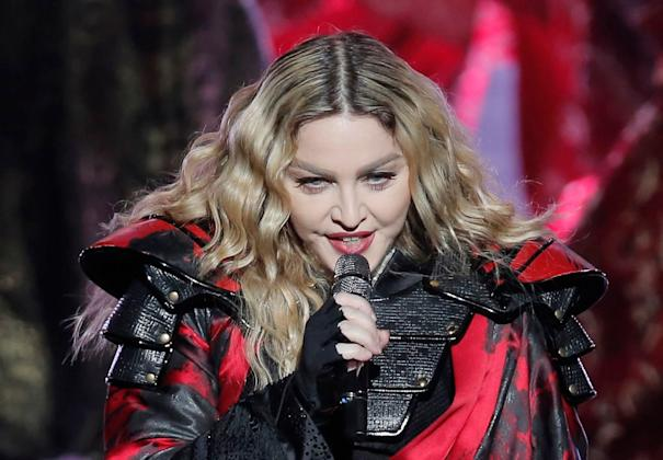 Madonna cancels London gig due to injuries