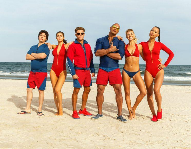 Baywatch... teaser dropped by Zac Efron - Credit: Paramount