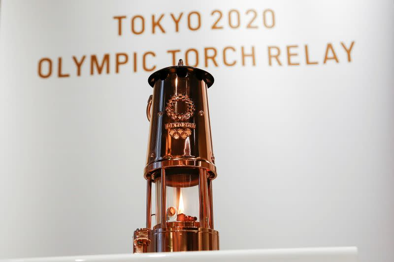 Tokyo Games to be symbol of hope as flame goes on display