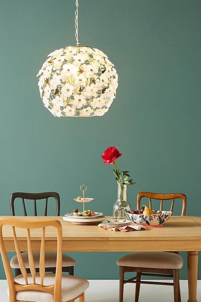 The Abella Globe Chandelier is 35 percent off at Anthropologie. (Photo: Anthropologie)