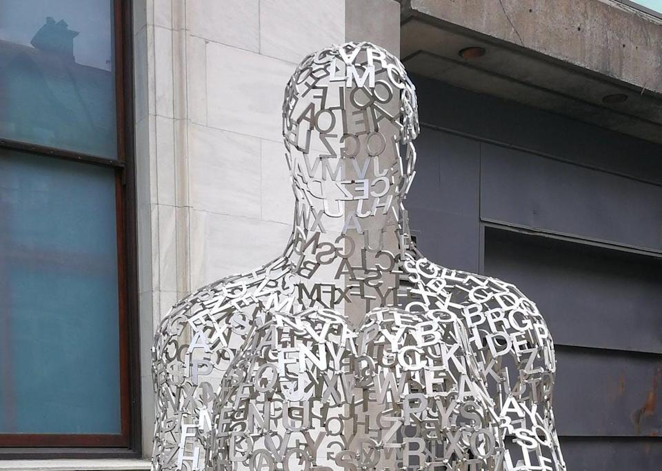 """<span class=""""caption"""">Vocabulary surrounding Alzheimer's and other related disorders must be carefully chosen. Here, sculpture by Jaume Plensa, in Montréal.</span> <span class=""""attribution""""><span class=""""source"""">(Flickr/Art_Inthecity)</span></span>"""