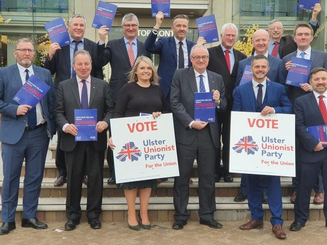 Ulster Unionist Party members
