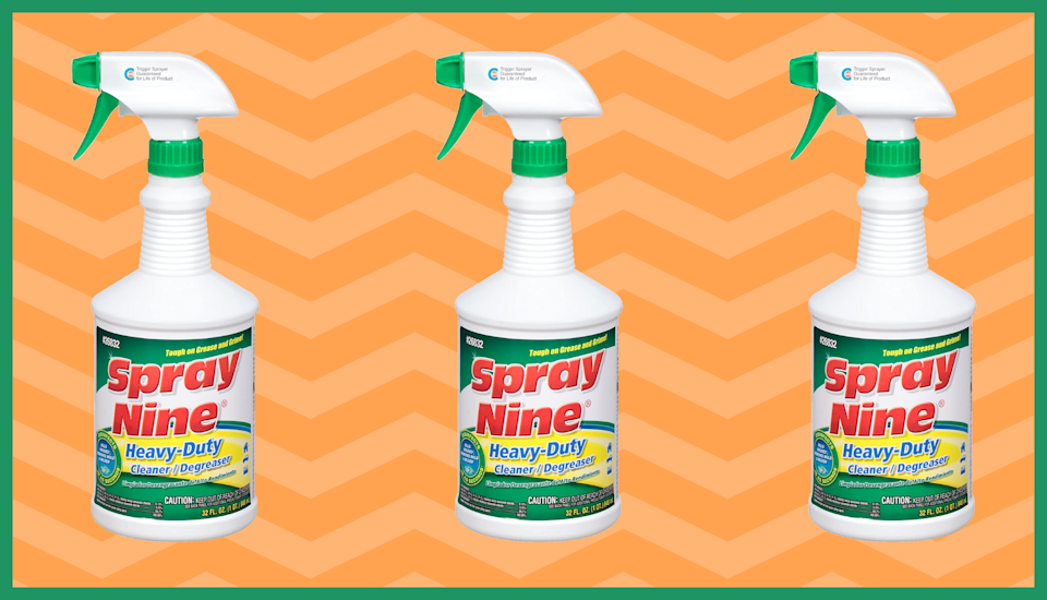Spray Nine Heavy-Duty Cleaner and Disinfectant is in stock. (Photo: Amazon)