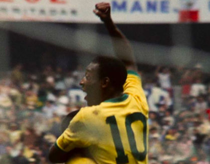 Pele's crowning moment came in the 1970 World CupNetflix