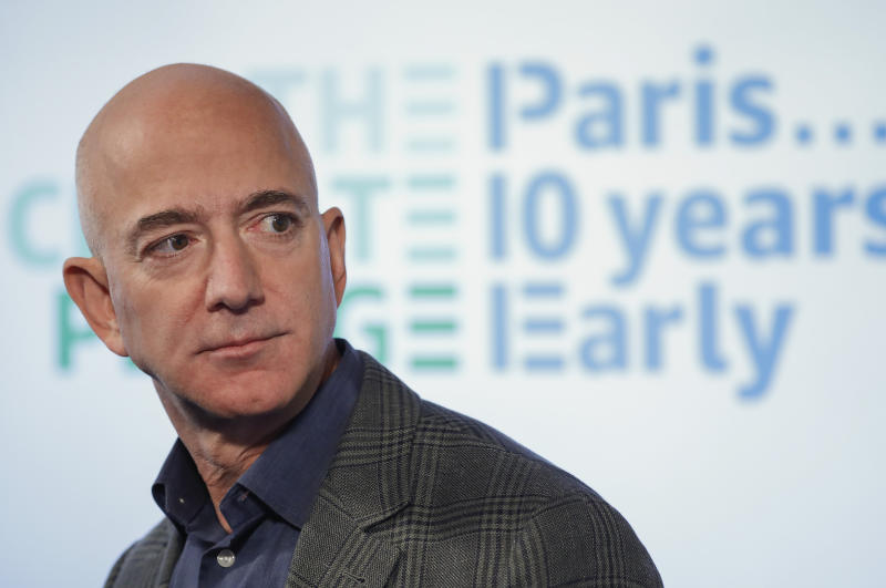 Jeff Bezos, executivo-chefe da Amazon. (Foto: AP Photo/Pablo Martinez Monsivais)