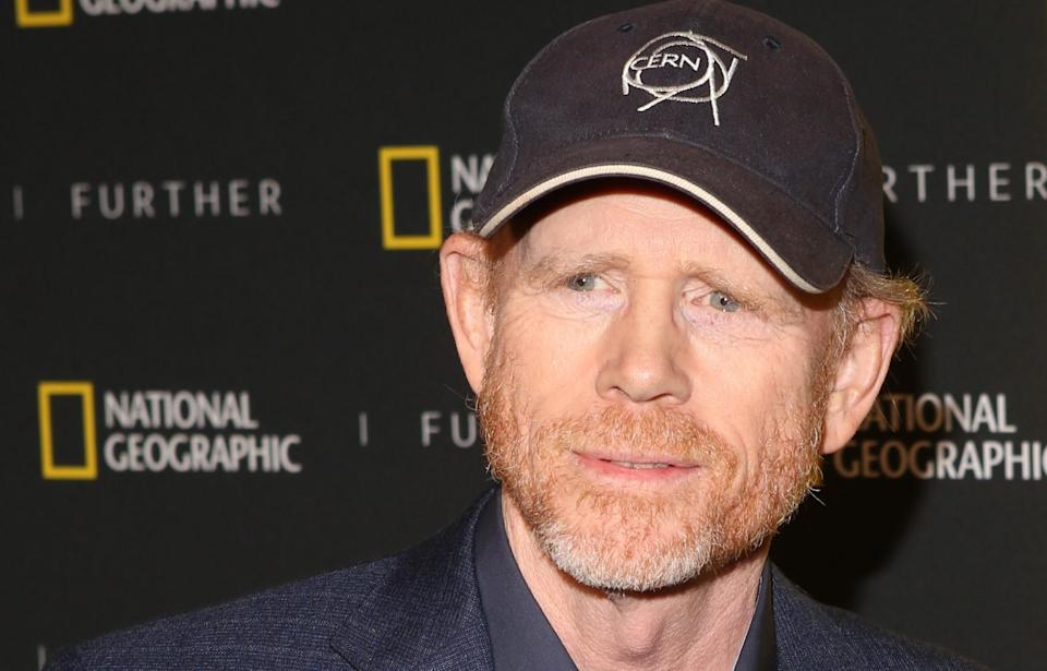 Ron Howard, new director of the Star Wars Han Solo movie (credit: WENN)