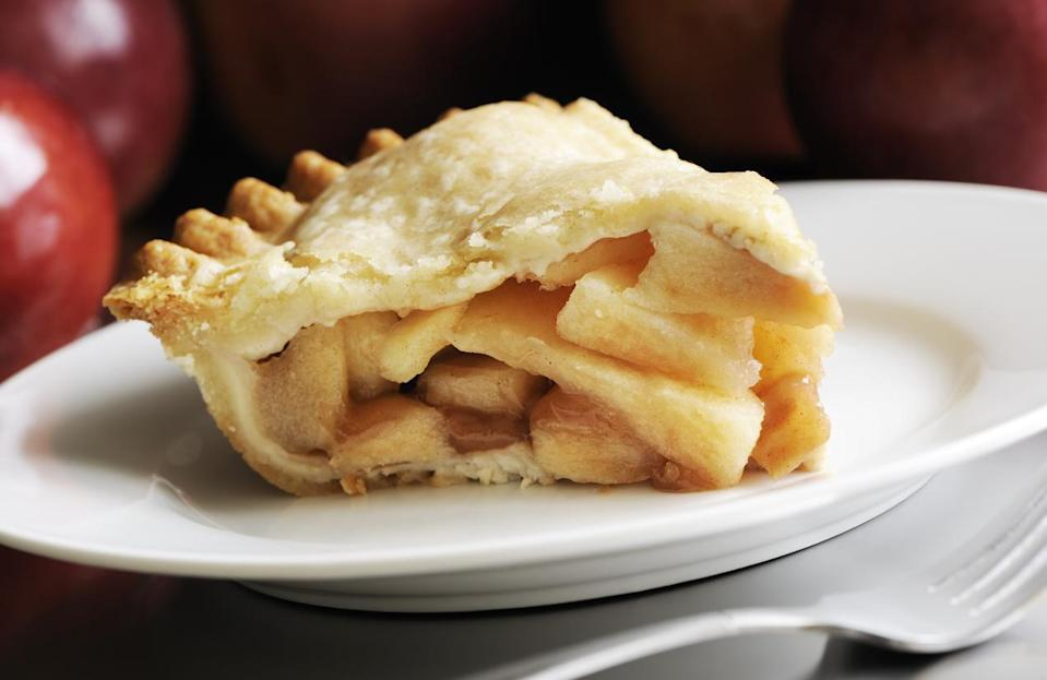"<p>It seems fitting that America's most beloved pie belongs to the capital of the country. <a href=""https://www.thedailymeal.com/cook/americas-best-apple-pies?referrer=yahoo&category=beauty_food&include_utm=1&utm_medium=referral&utm_source=yahoo&utm_campaign=feed"" rel=""nofollow noopener"" target=""_blank"" data-ylk=""slk:Apple pie"" class=""link rapid-noclick-resp"">Apple pie</a> is a staple in Washington, D.C, where the dish is a favorite on the White House Thanksgiving menu. Former President Barack Obama even said that the White House apple pie is the best pie he's ever had.</p>"