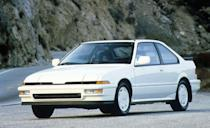 """<p>The first-generation Integra isn't the most celebrated to wear the badge—that would be the 1994–2001 cars, which include the only Type R to be sold in the States—but that doesn't diminish its coolness. Landing on our 10Best Cars lists for <a href=""""http://www.caranddriver.com/features/1987-10best-cars-feature"""" rel=""""nofollow noopener"""" target=""""_blank"""" data-ylk=""""slk:1987"""" class=""""link rapid-noclick-resp"""">1987</a> and <a href=""""http://www.caranddriver.com/features/1988-10best-cars"""" rel=""""nofollow noopener"""" target=""""_blank"""" data-ylk=""""slk:1988"""" class=""""link rapid-noclick-resp"""">1988</a>, the original 'Teg offered tons of fun in affordable three- and five-door packages, with the MSRPs of the earliest cars sliding in under $10,000. (The 1987 base price of $9859 converts to less than $21K today.) The standard 16-valve 1.6-liter four-cylinder—a rarity for its time—was a pure joy, offering plenty of performance despite spinning out a maximum of 118 horsepower. A curb weight below 2500 pounds certainly helped. </p>"""