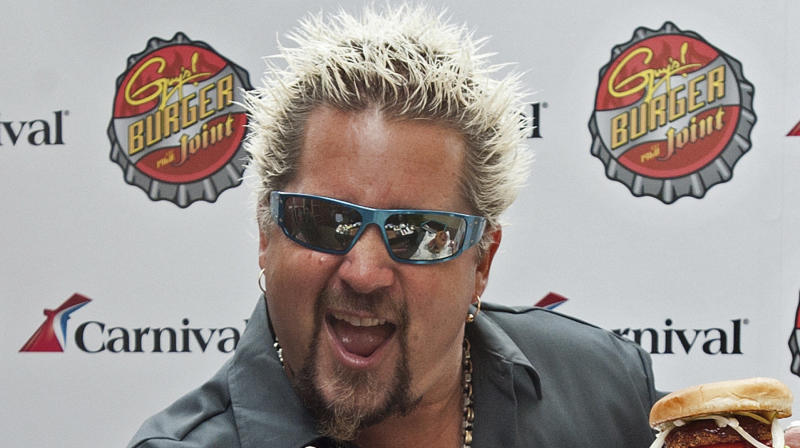 Guy Fieri Actually Hates The Flame Shirt He's Become So Infamous For Wearing