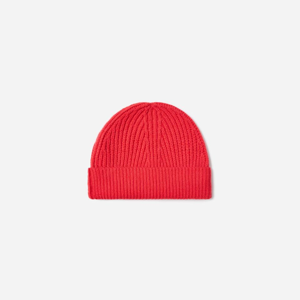 """<p><strong>everlane</strong></p><p>everlane.com</p><p><strong>$65.00</strong></p><p><a href=""""https://go.redirectingat.com?id=74968X1596630&url=https%3A%2F%2Fwww.everlane.com%2Fproducts%2Fwomens-cashmere-rib-beanie-cactus-flower&sref=https%3A%2F%2Fwww.countryliving.com%2Fshopping%2Fg37003543%2Ffall-hats-women%2F"""" rel=""""nofollow noopener"""" target=""""_blank"""" data-ylk=""""slk:SHOP NOW"""" class=""""link rapid-noclick-resp"""">SHOP NOW</a></p><p>This beanie will go beyond providing some warmth in the colder days and will bring a pop of color into your look. Available in cactus flower (shown), cinnamon, and sky blue, this is all you need to make a casual look stand out. </p>"""