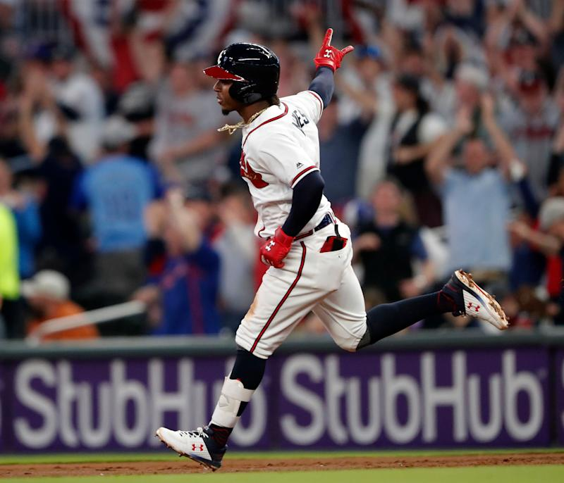 Ozzie Albies, Braves agree to $35M, 7-year contract | AP sports