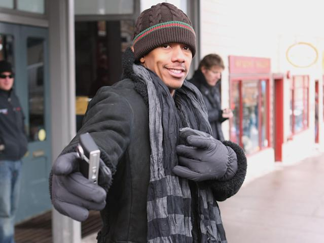 <p>Nick Cannon hit the streets of Sundance, just three months ahead of his wedding to Mariah Carey. The occasion was the future <em>America's Got Talent</em> host's starring turn in war drama <em>American Son</em>. (Photo: Scott Halleran/Getty Images) </p>