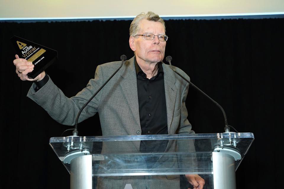 Stephen King is under fire after tweeting that he feels 'very uneasy' about Hachette Book Group's decision to drop Woody Allen's autobiography. (Photo: Sean Zanni/Patrick McMullan via Getty Images)