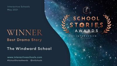 Out of nearly 1,000 entries from around the world, the Windward School Communications Office won the award for Best Dramatic Story in Interactive Schools.  School Story Award.