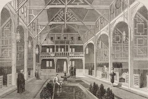 The Victorians loved cleanliness, and the exotic - Credit: GETTY