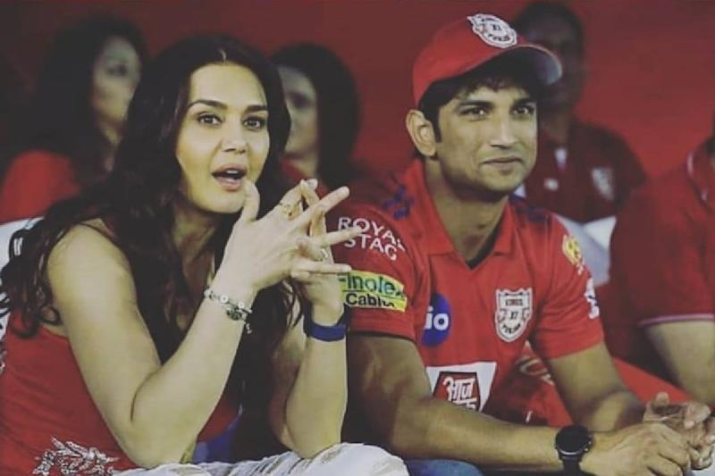 This Throwback Image from IPL Match Leaves Sushant Singh Rajput Fans Nostalgic